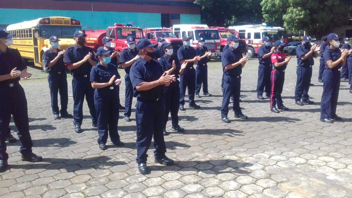 Bomberos de Nicaragua listos para atender emergencia por IOTA