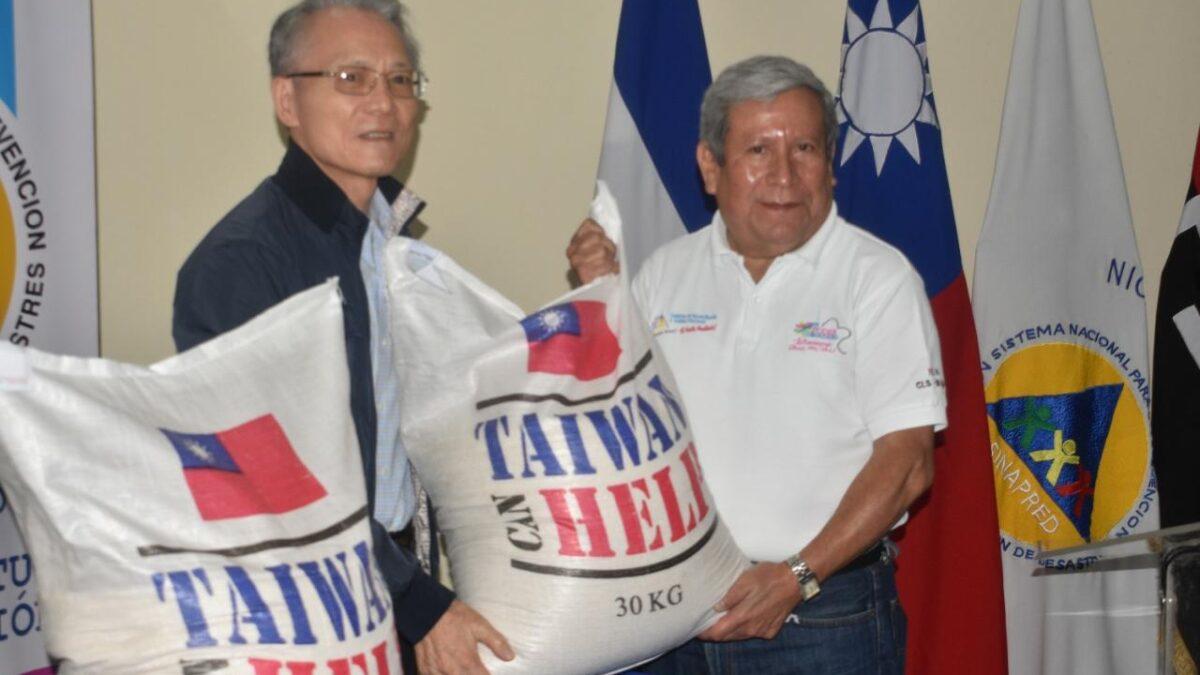Taiwán dona 80 toneladas de arroz para atender situación de emergencia