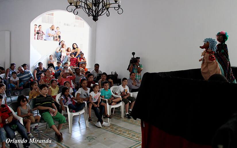 Clases de teatro para mejorar el aprendizaje en las escuelas de Nicaragua