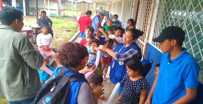 Escuelas que funcionaron de albergues serán rehabilitadas para la continuidad de las clases