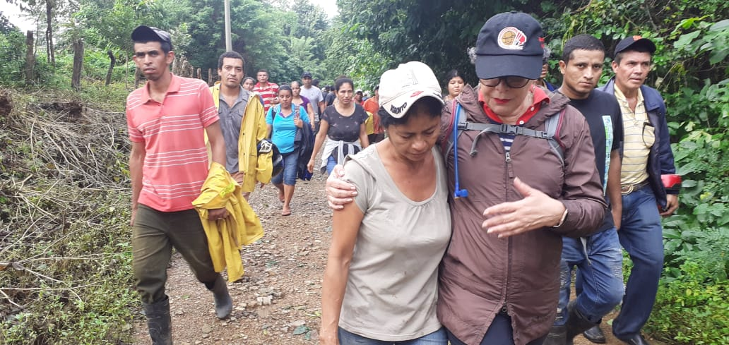 Familia es arrastrada por río en la comunidad La Piñuela, Carazo
