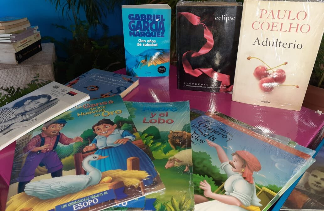 Incentivan a la lectura con feria de los libros en el Parque Nacional