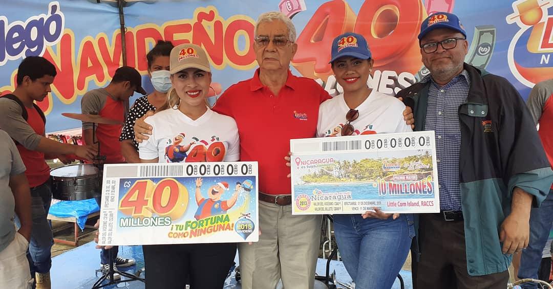 Lotería Nacional lanza Sorteo Navideño en Carazo