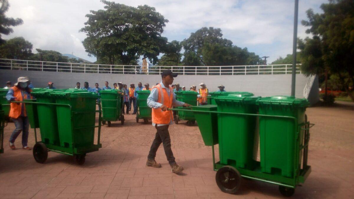 Managua cuenta con 100 nuevos recolectores de desechos sólidos