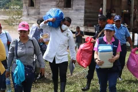Nicaragua previene enfermedades tras paso de huracanes