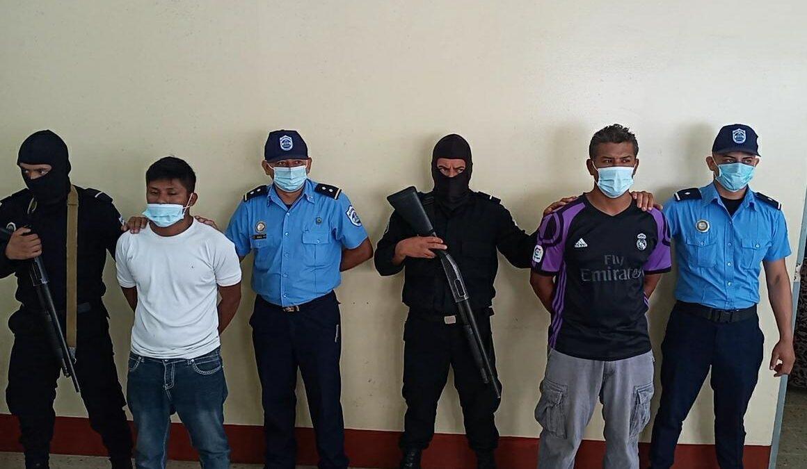 Policía de Carazo captura a peligrosos delincuentes
