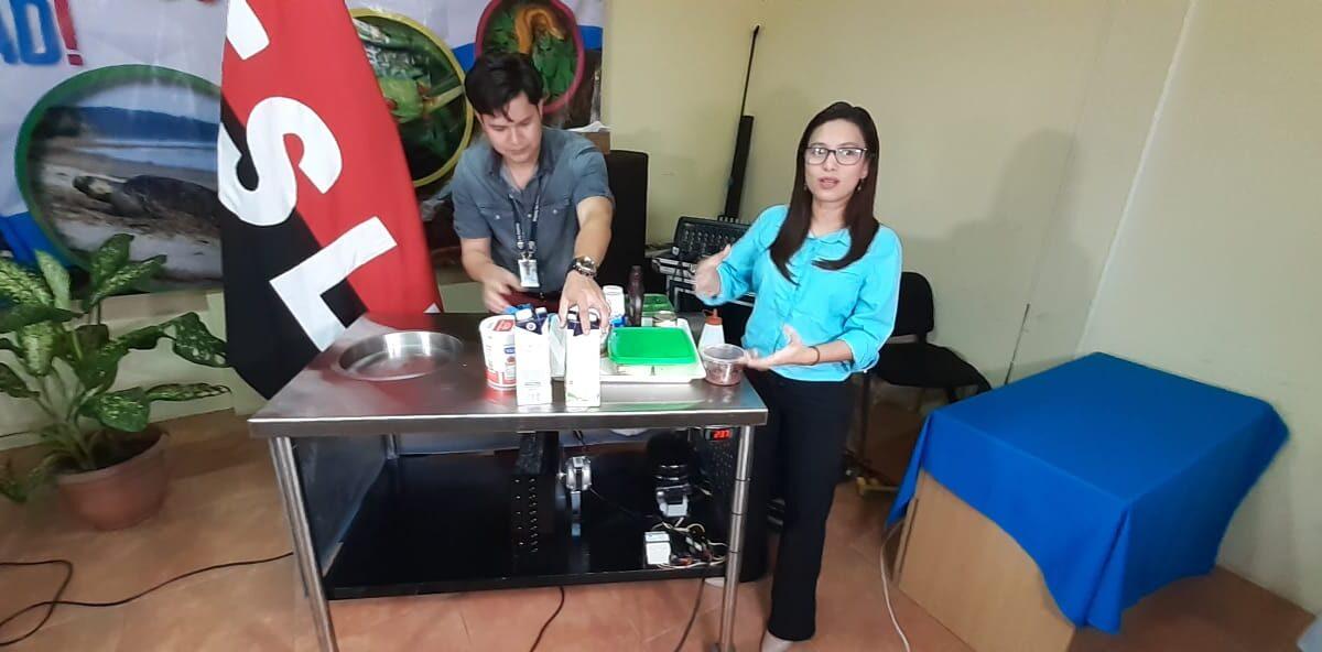 Técnicos del MARENA diseñan máquina ecológica para elaborar helados