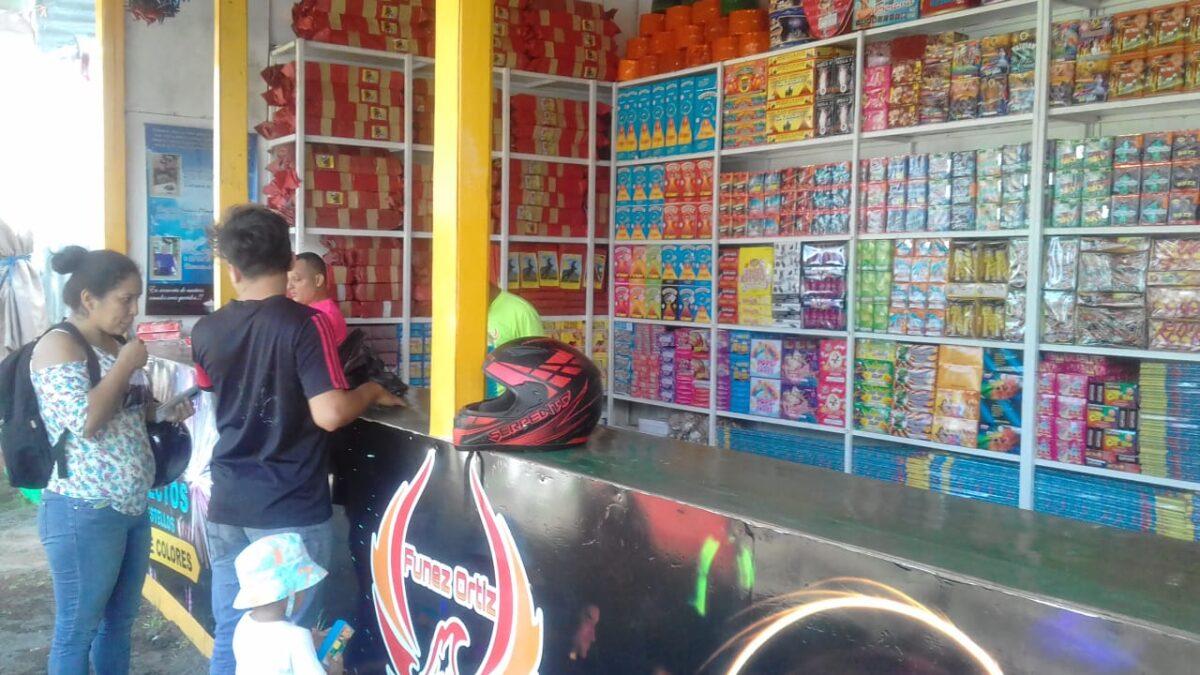 Fiestas religiosas dinamizan venta de pólvora en Nicaragua
