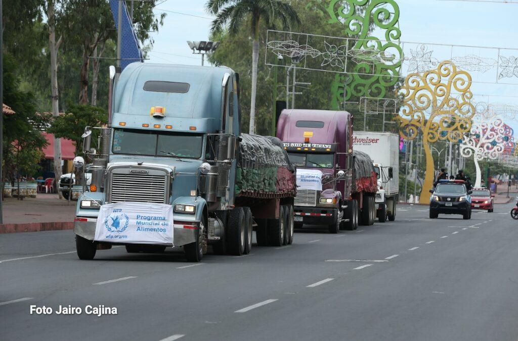 ETA: gobierno envía segundo contingente de 88 toneladas de alimentos a la Costa Caribe