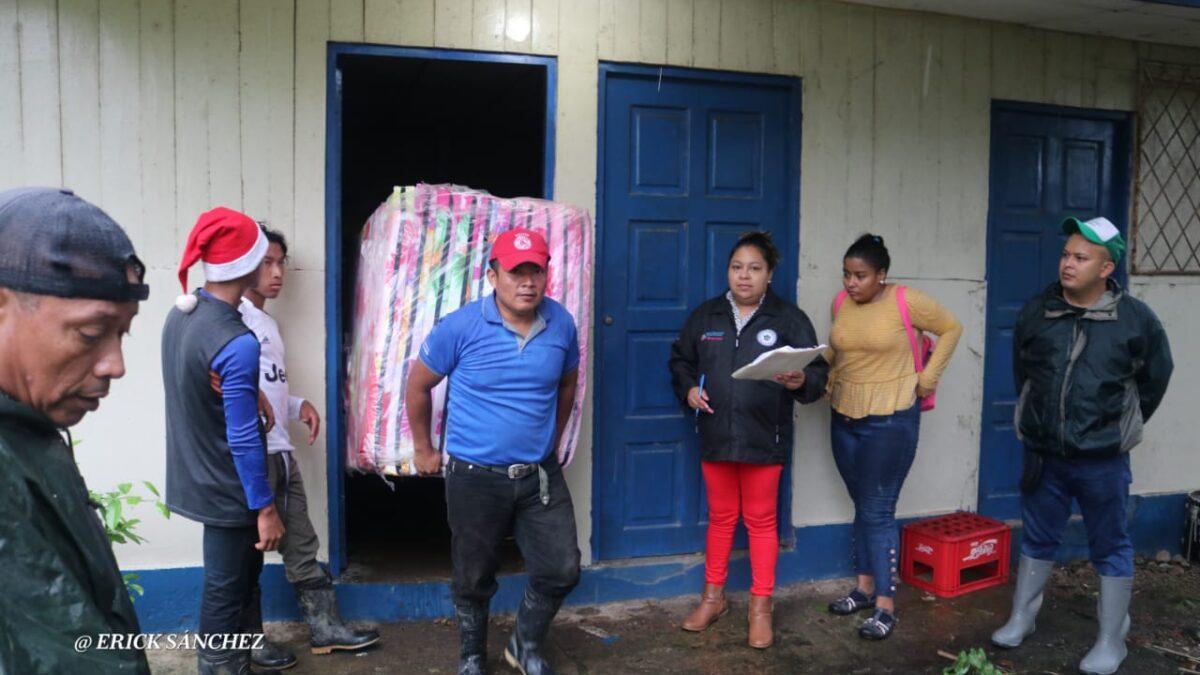 Respuesta de las instituciones del estado es inmediata ante emergencia del Huracán ETA