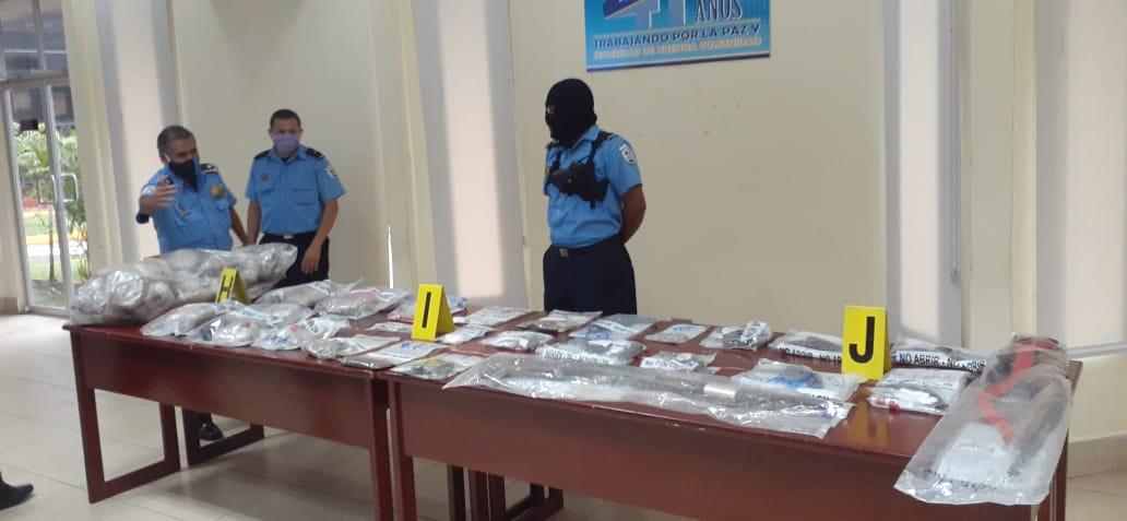 Policía desarticula dos bandas delincuenciales en Managua