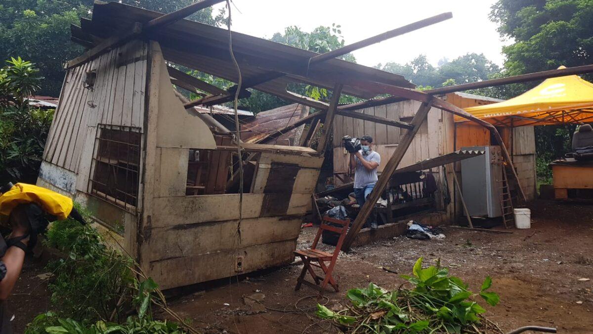 104 barrios y 97 viviendas de Managua afectadas por huracán Iota