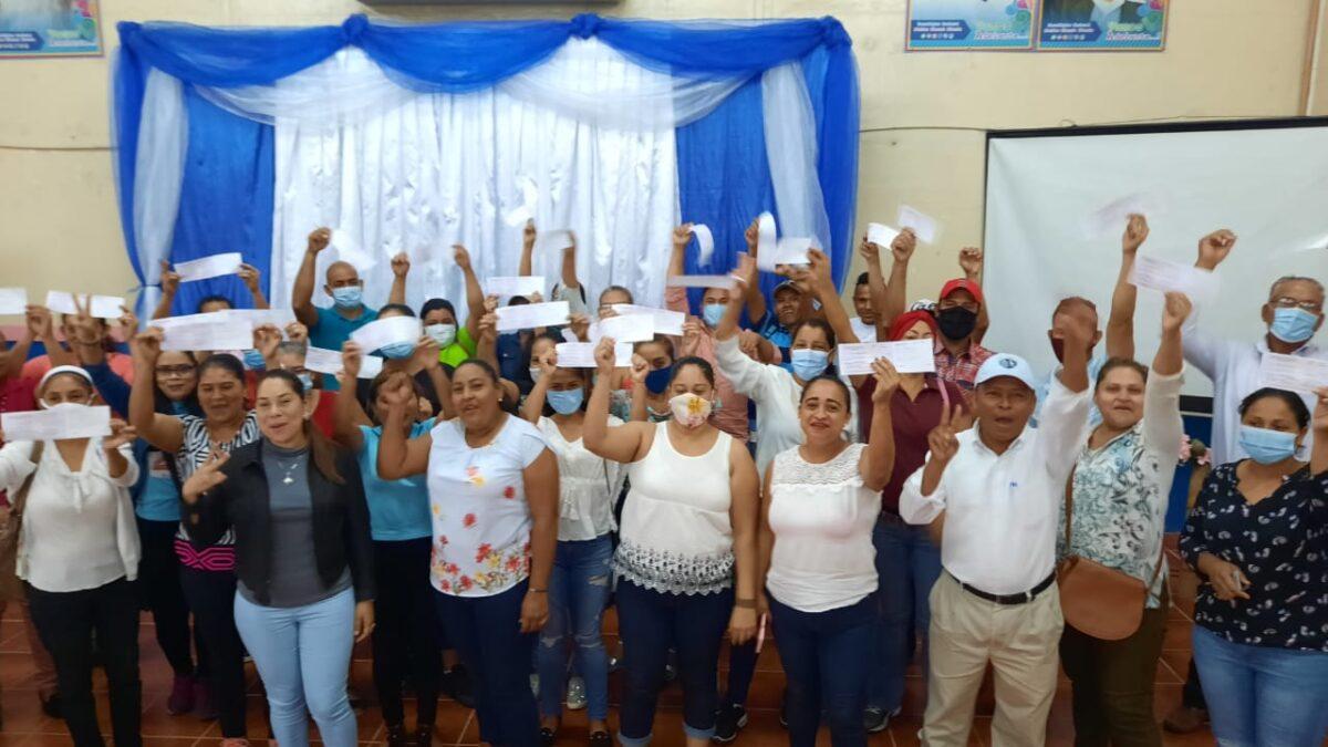 Boaco: Cuatro millones de córdobas son entregados a emprendedoras y productoras