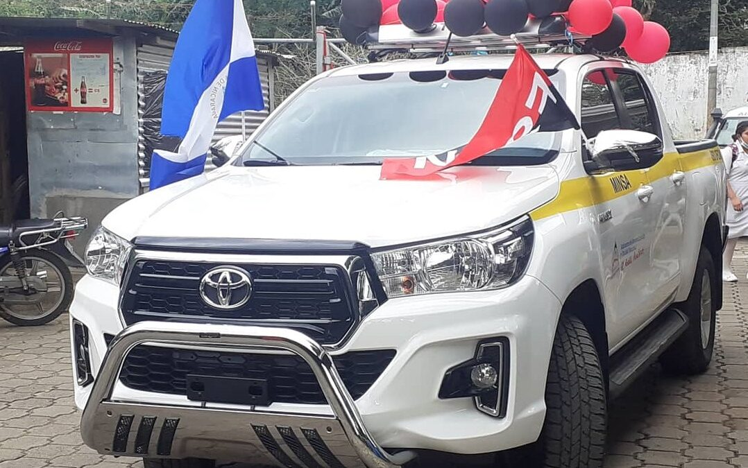 Nueva camioneta para el centro de salud Pedro Narváez Cisneros de Jinotepe