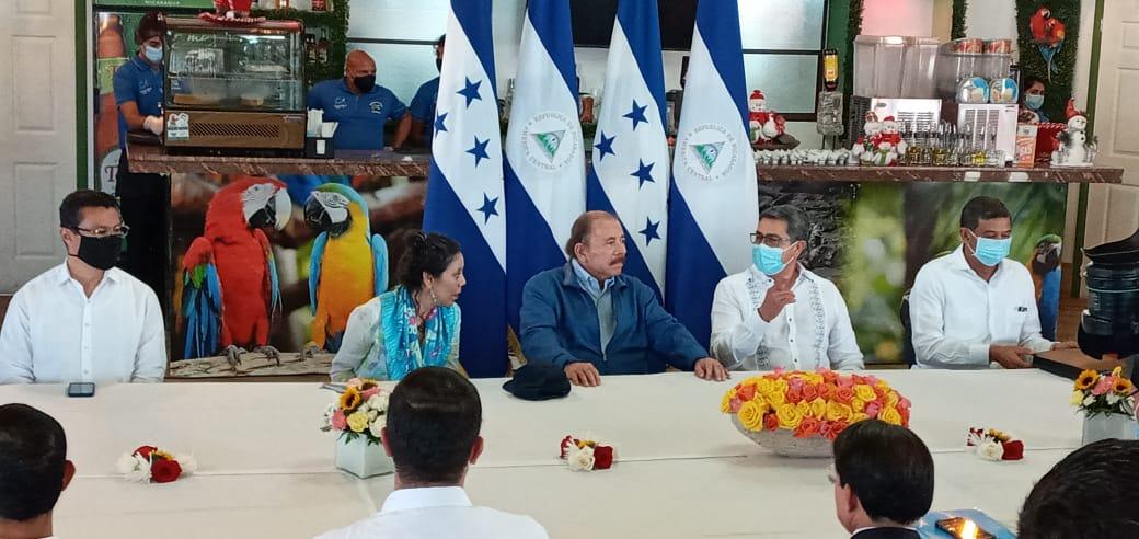 Presidente Daniel sostiene importante encuentro con su homólogo de Honduras