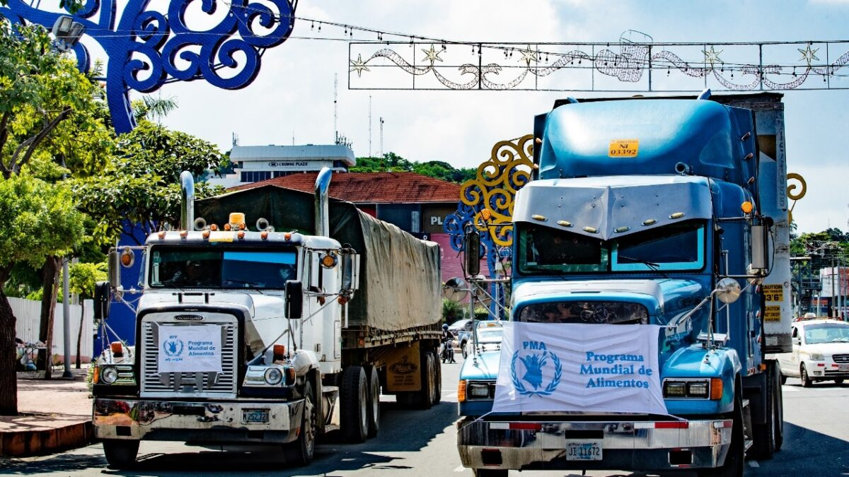 Más de 200 toneladas de alimentos para damnificados en Nicaragua