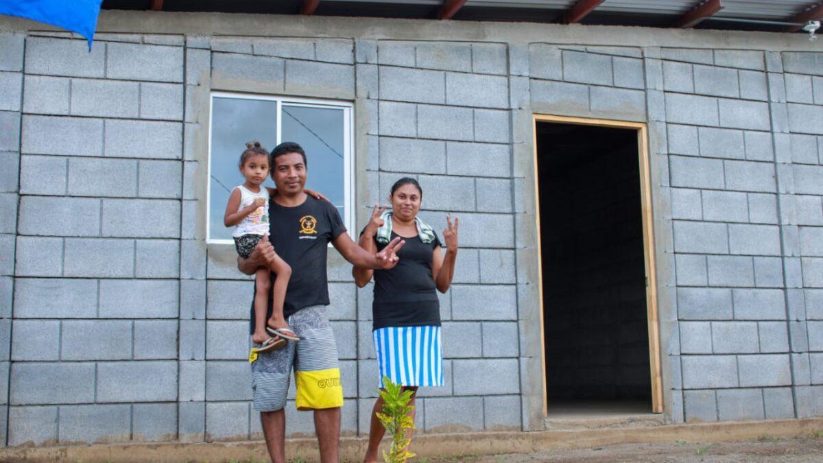 Más familias se beneficiarán con una vivienda nueva