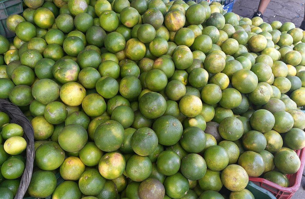 Frutas para el brindis del novenario a la Virgen María a precios módicos