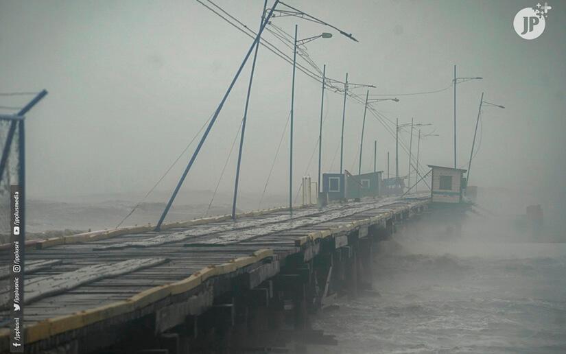 ETA Impactó en categoría 4 y saldrá como depresión tropical