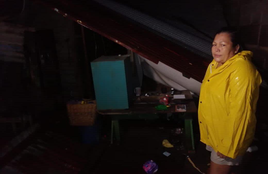 Huracán Iota deja viviendas colapsadas y con anegaciones temporales en Managua