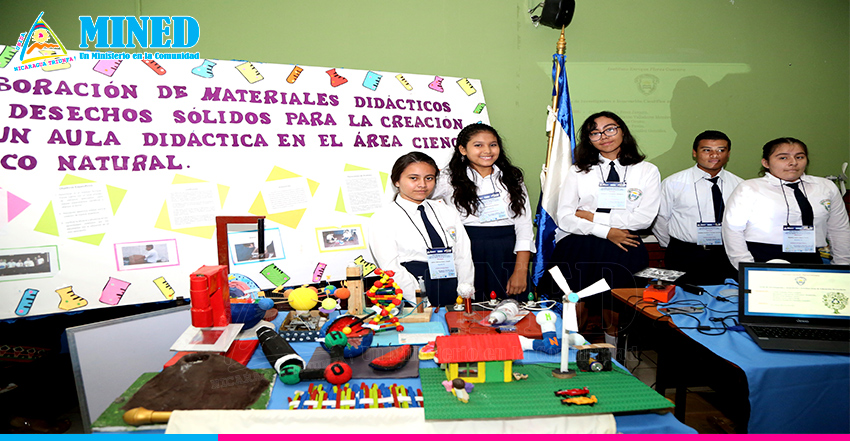 Estudiantes presentan proyectos innovadores de investigación científica