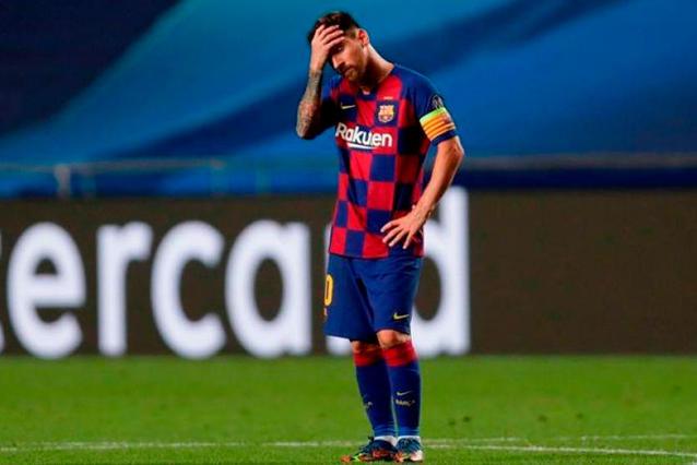 Lionel Messi fue descartado para el duelo ante Dynamo de Kiev