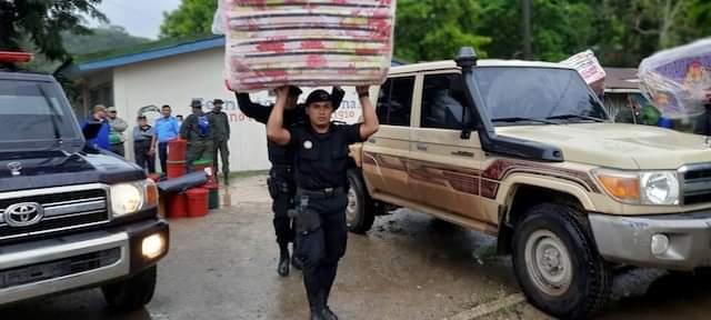 Policía brinda seguridad en 91 albergues
