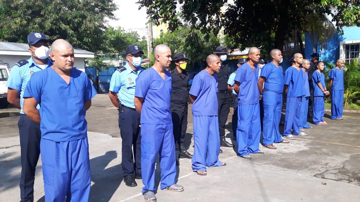 Policía Nacional captura 28 sujetos de alta peligrosidad en Chinandega