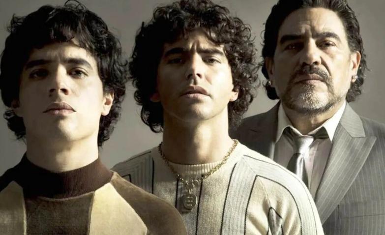 La serie biográfica de Maradona será estrenada el próximo año