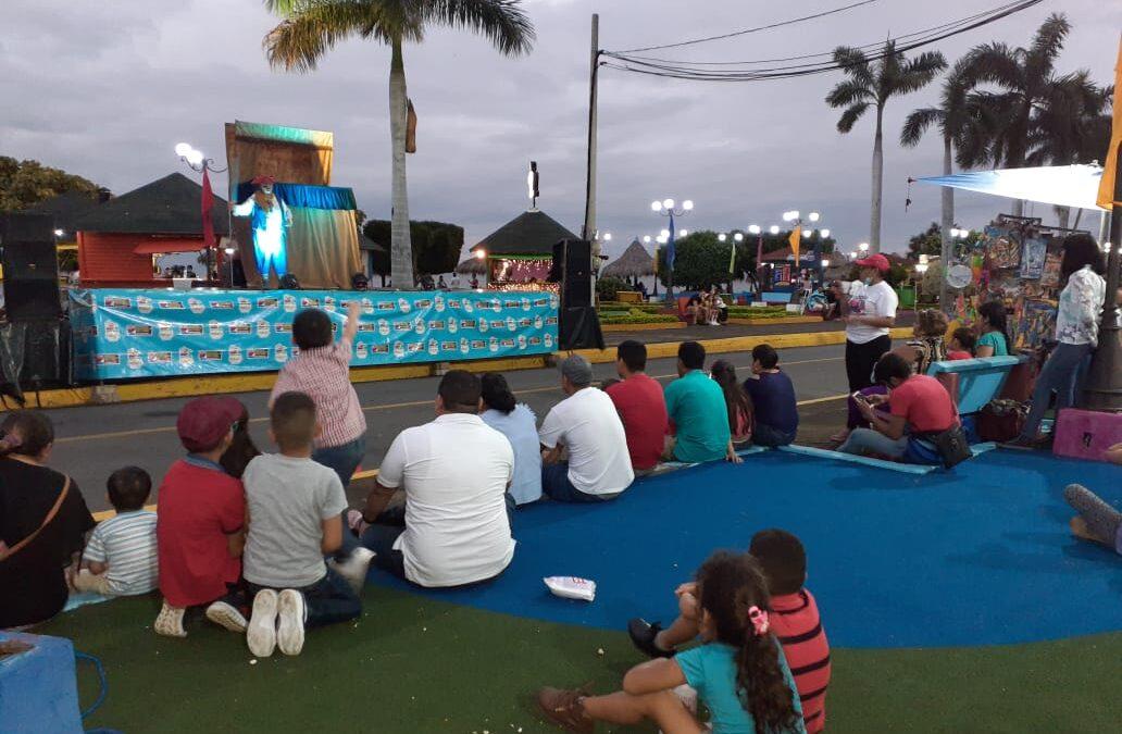 Un paseo entretenido vivieron los niños en el Puerto Salvador Allende