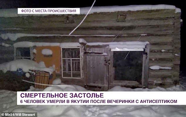 Siete muertos en Rusia tras ingerir gel desinfectante en una fiesta