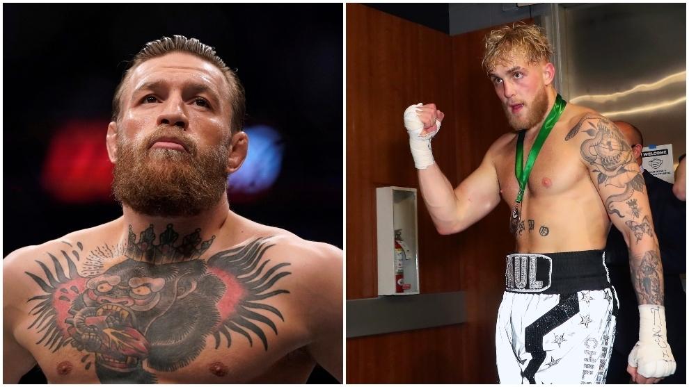 UFC descarta combate entre Conor McGregor y el youtuber Jake Paul