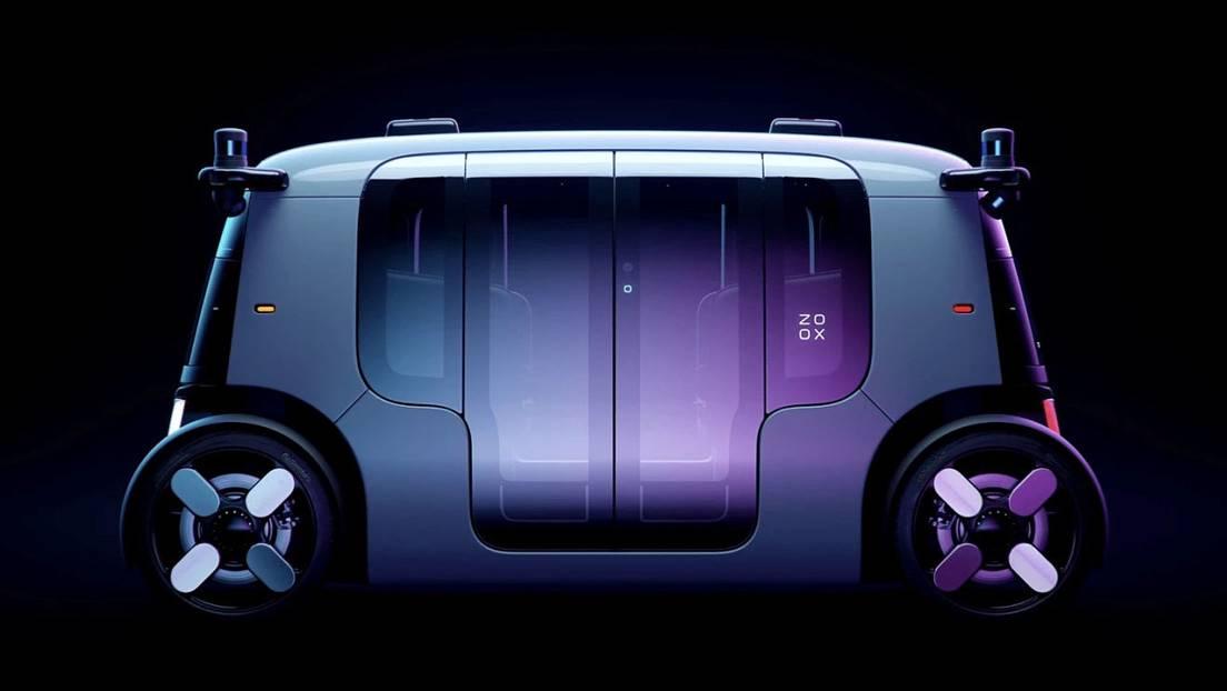 Amazon revela imágenes de su primer vehículo autónomo