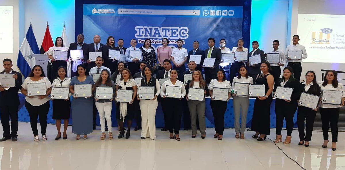 Nicaragua cuenta con nuevos docentes de educación técnica