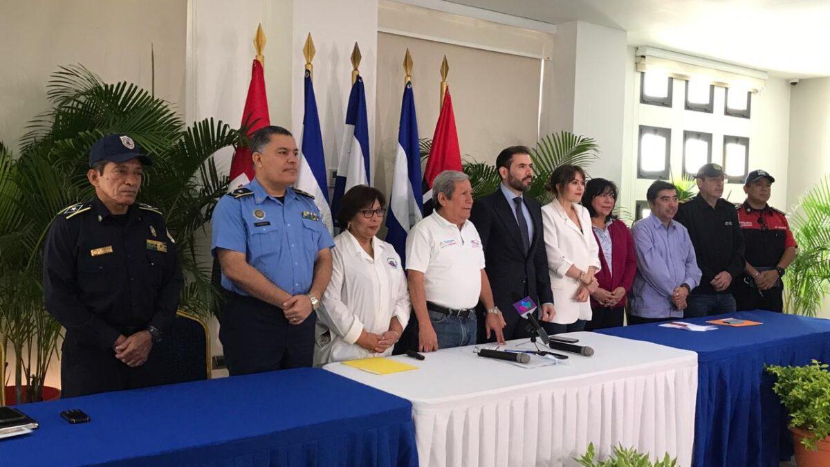 Ejecutan plan de emergencias en fin de semana largo en Nicaragua