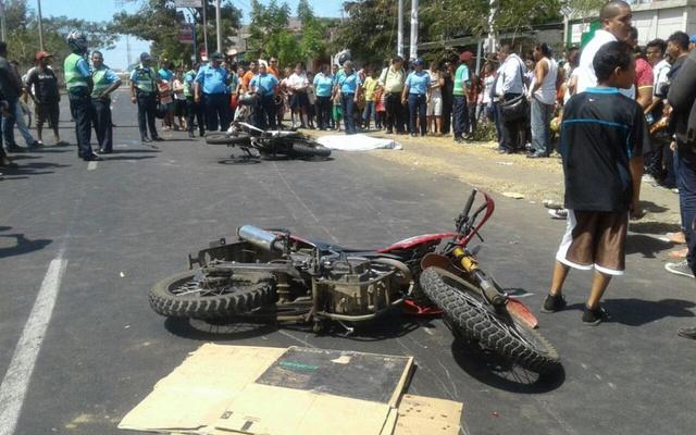 14 muertos en accidentes de tránsito la semana pasada