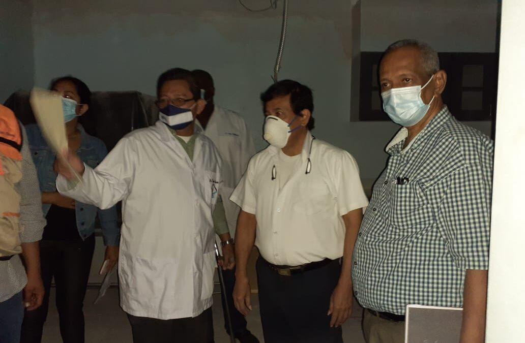 Avanza construcción de laboratorios con gran capacidad investigativa de virus