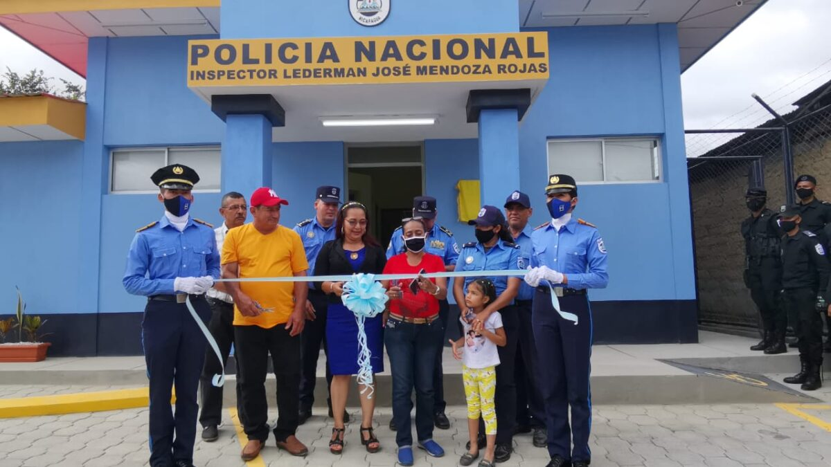 Inauguran delegación policial en Santa María, Nueva Segovia