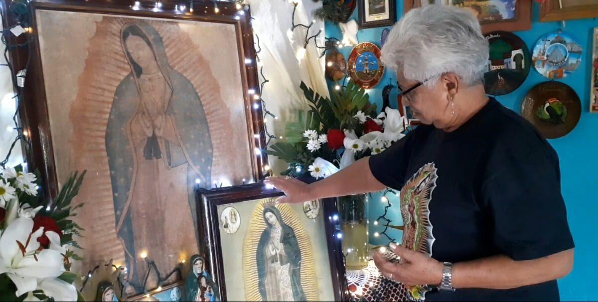 Familia Amaya desde hace 30 años festeja a la virgen de Guadalupe