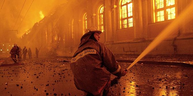 11 personas fallecieron en un incendio de una residencia de ancianos en Rusia