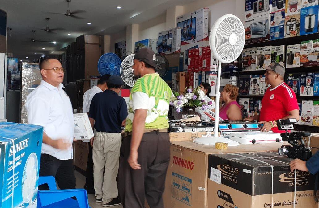 Buenas ventas y descuentos en electrodomésticos en Comercial Filadelfia