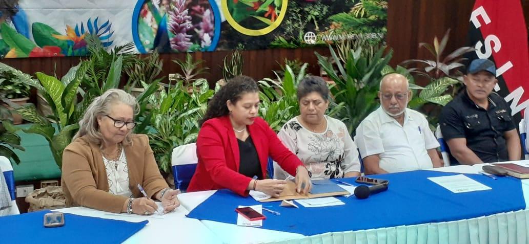 Municipalidades de Chontales firman convenio para la protección de la cordillera Amerrisque