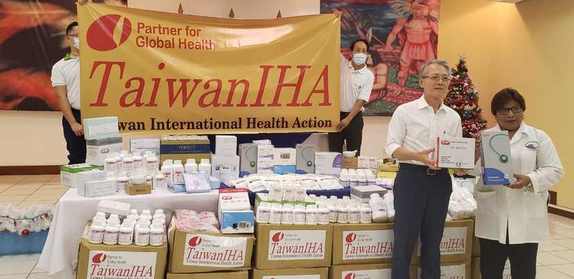 Gobierno de Taiwán donó insumos médicos al pueblo nicaragüense