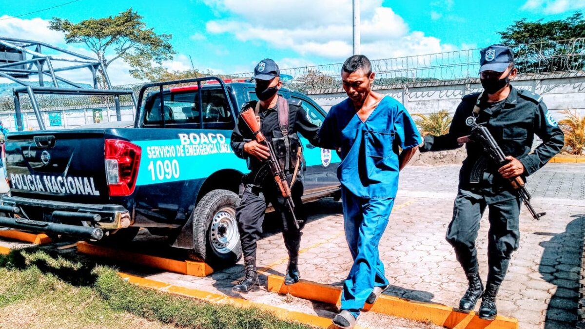 Capturan a sujeto que cometió homicidio en Camoapa, Boaco