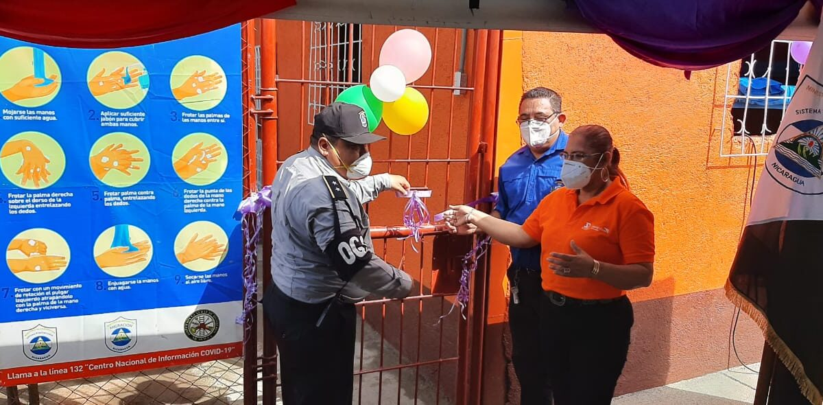 Mejoran salas para atención médica en el Sistema Penitenciario de Tipitapa