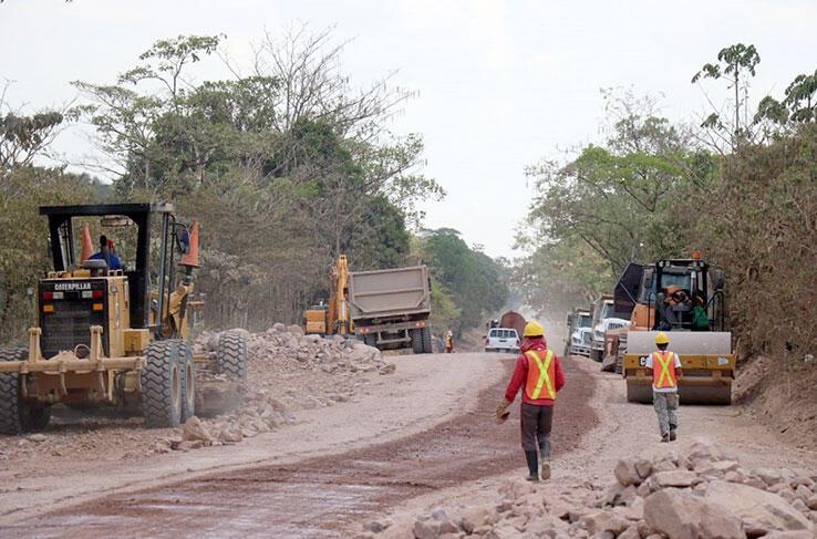 Construirán carretera en la Región Autónoma de la Costa Caribe Norte