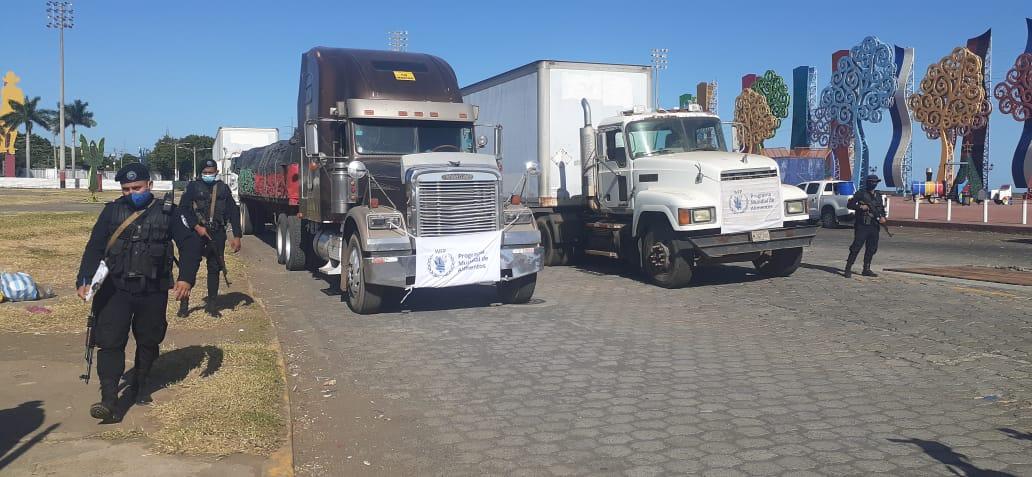 Gobierno envía 200 toneladas de alimentos para las familias de Waspán