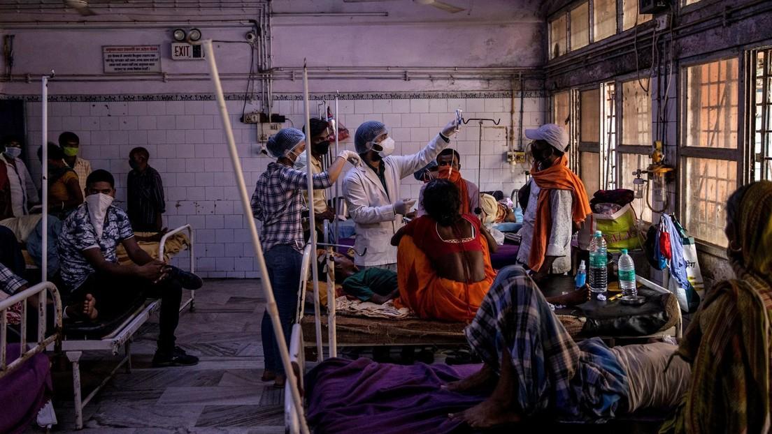 Rara enfermedad deja a más de 300 personas hospitalizadas en la India