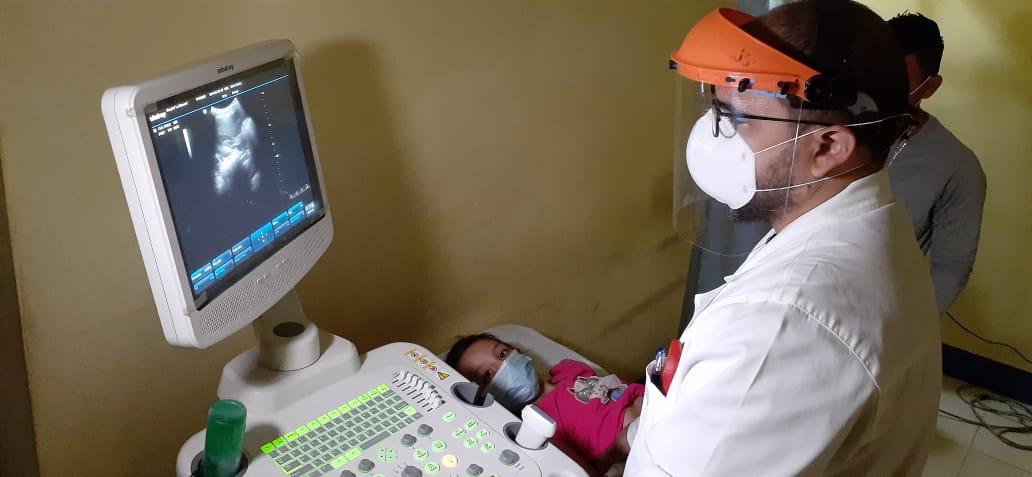 Desarrollan jornada especial de ultrasonidos en el hospital del niño