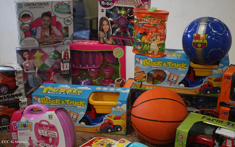 Más de un millón 200 mil juguetes serán entregados a niños estudiantes, a partir de este jueves